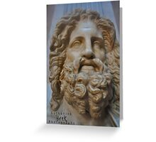 Roman Statue at the Vatican  Greeting Card