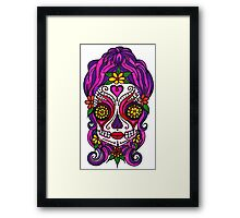 Candy Skull Framed Print