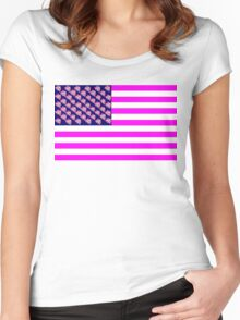The United States of Pinkie Pie Women's Fitted Scoop T-Shirt
