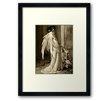 "Angel Series I - ""Soullight Mirrors"" Framed Print"