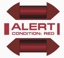 RED ALERT: Star Trek and Beyond Kids Tee