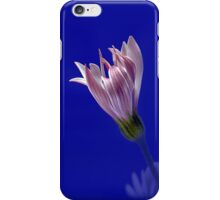Flower on Blue iPhone Case/Skin