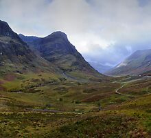 The Scottish Highlands No.4 - The Panoramic by Chris Cardwell