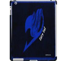 Fairy Tail blue with transparent shirt design iPad Case/Skin