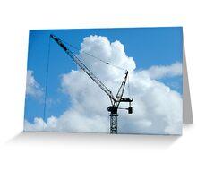 Cumulonimbus Crane Greeting Card