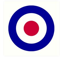 Roundel of the Royal Air Force Art Print