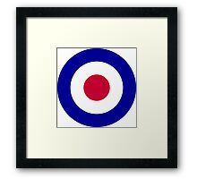 Roundel of the Royal Air Force Framed Print