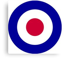 Roundel of the Royal Air Force Canvas Print
