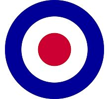 Roundel of the Royal Air Force Photographic Print