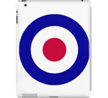 Roundel of the Royal Air Force iPad Case/Skin
