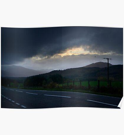 The Scottish Highlands No.5 Poster