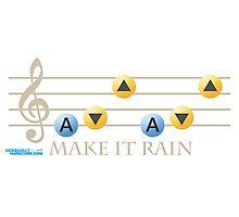 Make It Rain Photographic Print