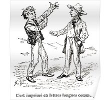 Achille Sirouy Mark Twain Les Aventures de Huck Huckleberry Finn illustration p208 Poster