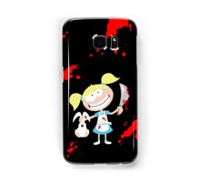 Psycho Girl - Black Samsung Galaxy Case/Skin