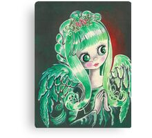 """""""Holly"""" ~ Holiday Angel I Canvas Print"""