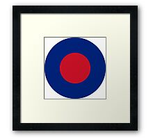 Royal Air Force Low Visibility Roundel Framed Print