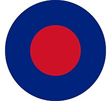 Royal Air Force Low Visibility Roundel Photographic Print