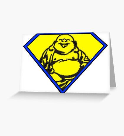 Buddha Man Greeting Card