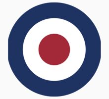 Roundel of the Royal Air Force by Spacestuffplus