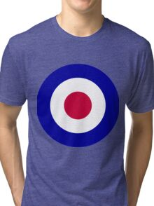 Roundel of the Royal Air Force Tri-blend T-Shirt