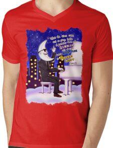 Golden Light Mens V-Neck T-Shirt