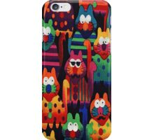Delightful Cats iPhone 4 Case iPhone Case/Skin