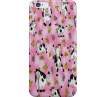 Pink Cows iPhone 4 Case iPhone Case/Skin