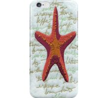 Elegantly Starfish iPhone 4 Case iPhone Case/Skin