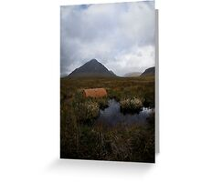 The Scottish Highlands No.8 - Abandoned Greeting Card