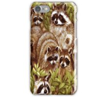 Raccoon Family iPhone 4 & 4s Case iPhone Case/Skin