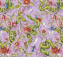 Morning Song - lavender by celandinestern