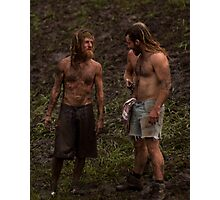 Muddy Hippies Photographic Print
