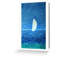Ghost Sail Greeting Card