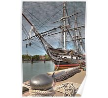USS Constitution aka Old Ironsides Poster