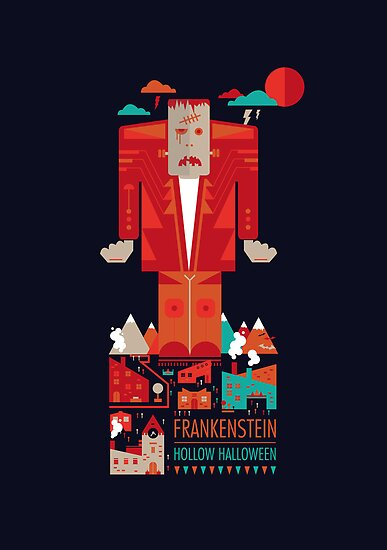 Hollow Halloween - Frankenstein by Petros Afshar