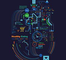 Healthy Eater by Petros Afshar