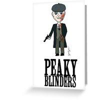 Peaky Blinders Toon Greeting Card