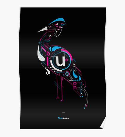 Blueheron Poster