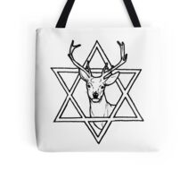 The buck of wisdom Tote Bag