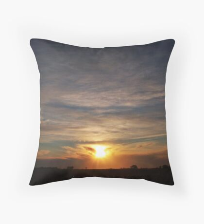 Day's End Throw Pillow