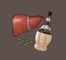 liver, fava beans, and a nice chianti Unisex T-Shirt