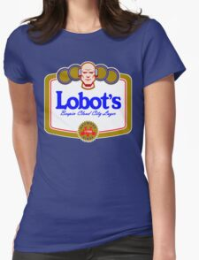 LOBOT'S LAGER Womens Fitted T-Shirt