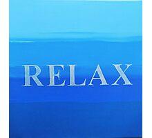 Relax Photographic Print