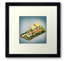 Architecture - The Stratford Manor Framed Print