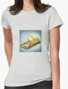 Architecture - The Stratford Manor Womens Fitted T-Shirt