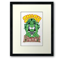 She-Hulk: Smash Patriarchy! Framed Print