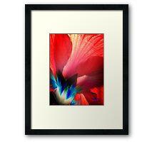 *veins of iridescence* Framed Print