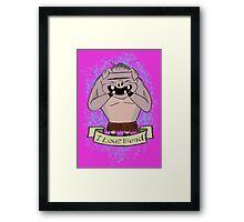 Pigmen, Don't starve Framed Print