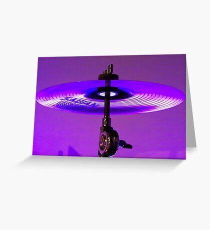 Cymbal Greeting Card