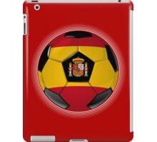 Spain - Spanish Flag - Football or Soccer iPad Case/Skin